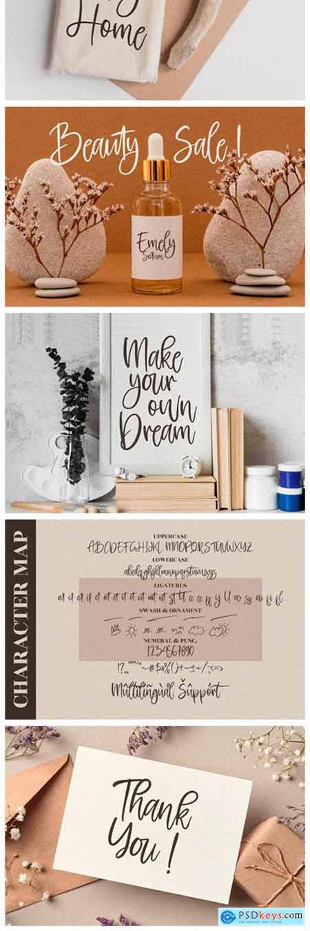 Rockybrown Font