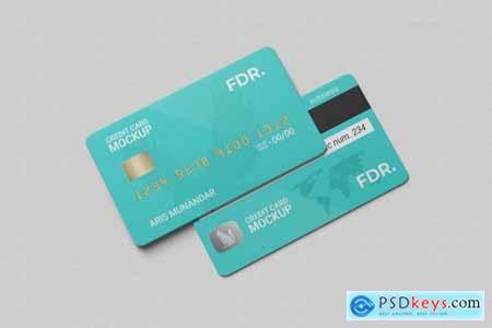 Stack Credit Card Mockup