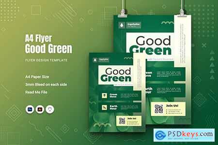 Good Green Flyer PYGMJEM