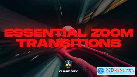 Essential Zoom Transitions for DaVinci Resolve 33186350