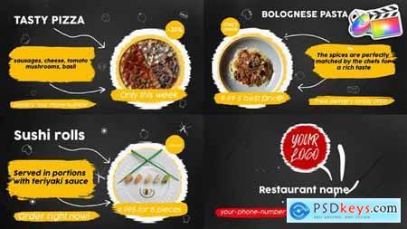 Food Menu Slideshow FCPX 33152678