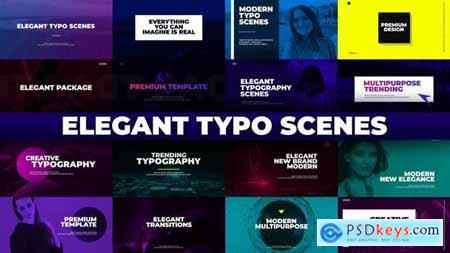 Elegant Typo Scenes 32015101