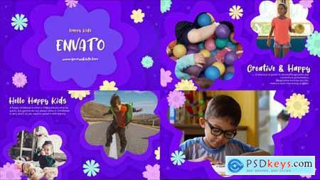 Happy Kids Slideshow - Premiere Pro MOGRT 33167219