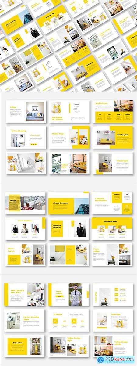Yellow Catalogue Interior