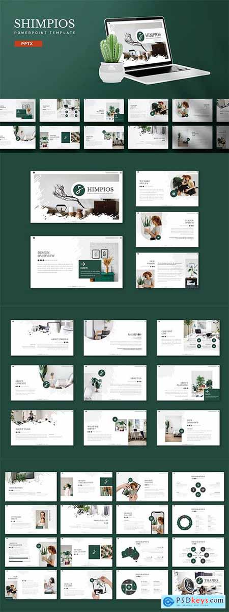 Shimpios - Powerpoint, Keynote and Google Slides Template