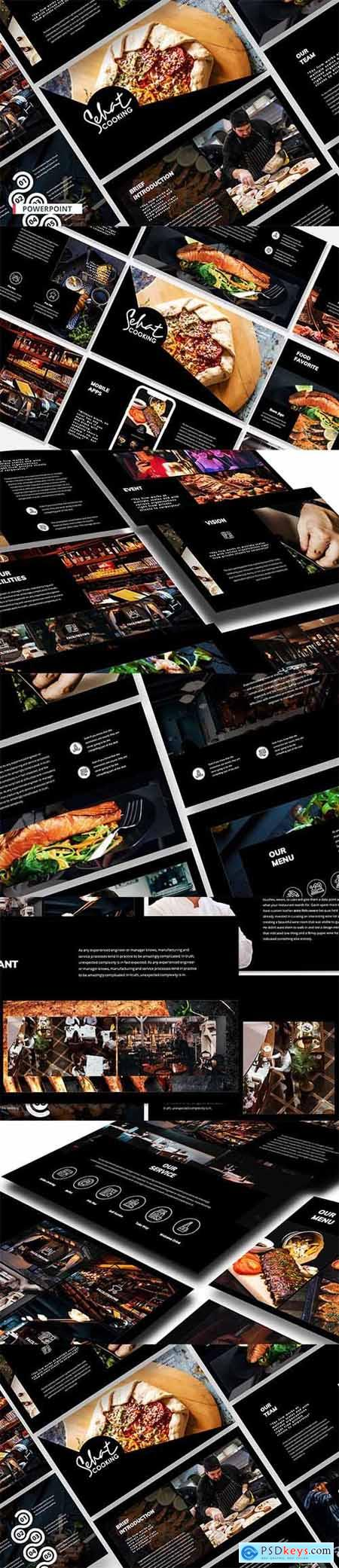 Restaurant Pitch - Powerpoint, Keynote and Google Slides Template