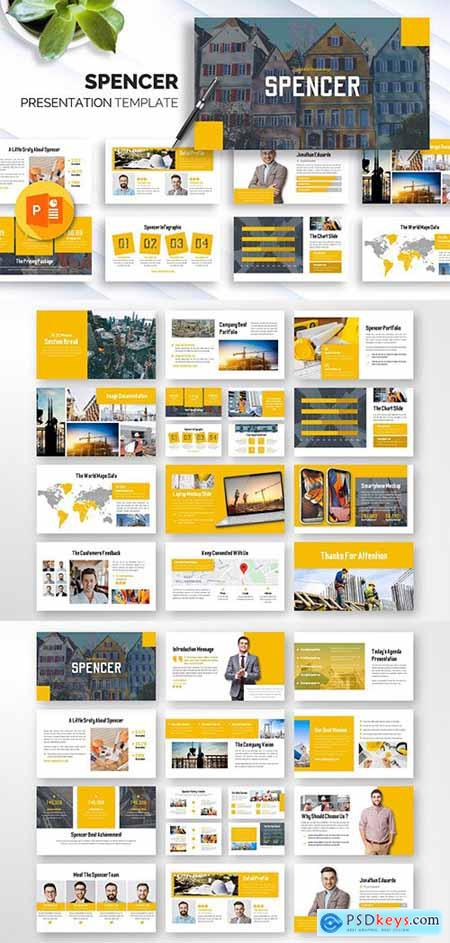 Spencer - Business Powerpoint Template