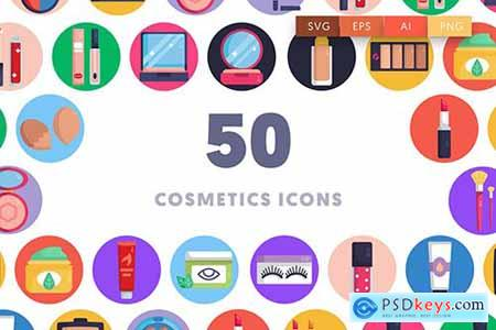50 Cosmetics Icons 3KTQ3JH