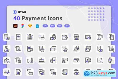 Dygo - Payment Icons 5XHMTPN
