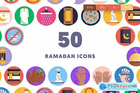 50 Ramadan Icons 8A5BUZR
