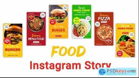 Food Instagram Story Pack 33210862