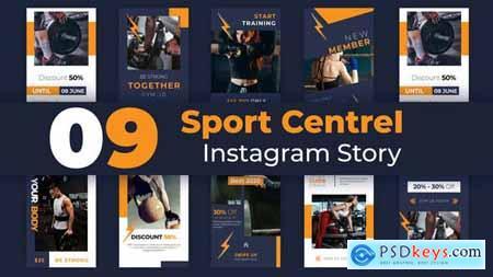 Sport Centre Instagram Story Pack 33221674