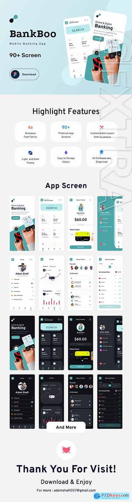 Bankboo Mobile Banding App Kit