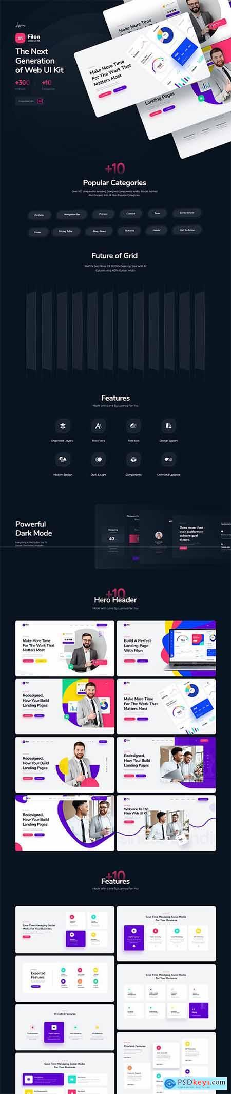 Filon Web UI Kit