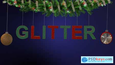 Glitter Ornament Typeface 22944719