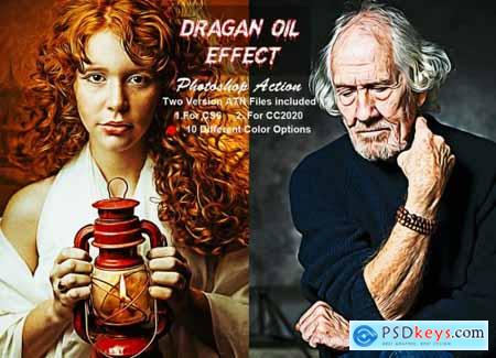 Dragan Oil Effect Photoshop Action 6305901