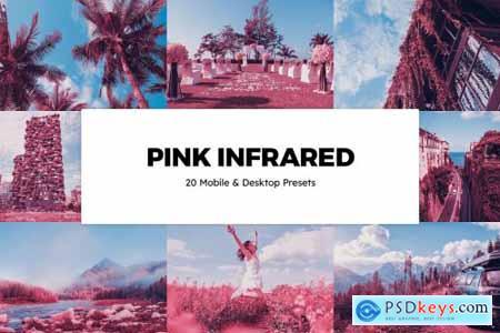 20 Pink Infrared Lightroom Presets & LUTs 6287887