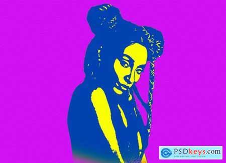 Pop Art Photoshop Action 6320373