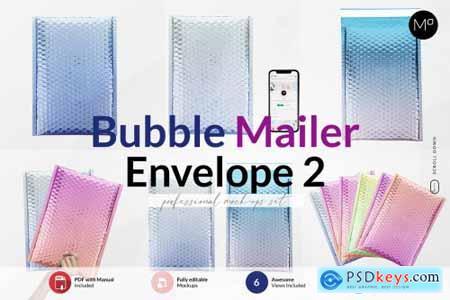 Bubble Mailer Envelope Mock-ups 6239221