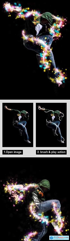 Magic Music Photoshop Action 31731437