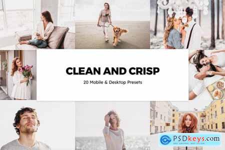 20 Clean and Crisp Lightroom Presets & LUTs 6275784