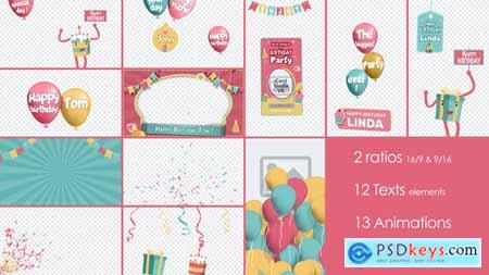 Birthday and Party Kit 32948415