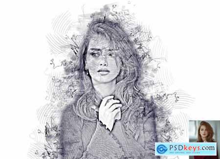 Multi Sketch Photoshop Action 6296759