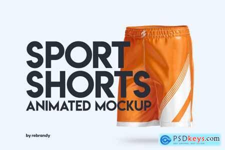 Sport Shorts Animated Mockup 6313531