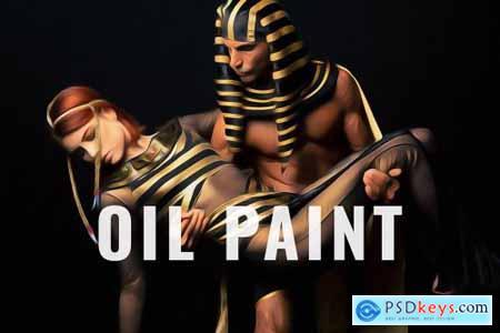 Premium Golden Oil Paint 5762156
