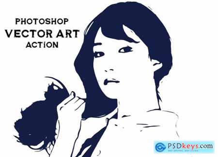 Photoshop Vector Art Action 5106461