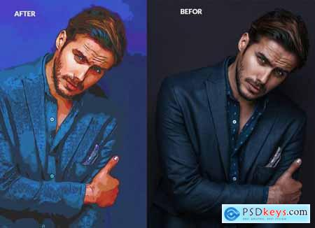 Painting Photoshop Action 5851862