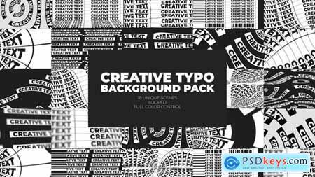 Creative Typo Background Pack 32980249