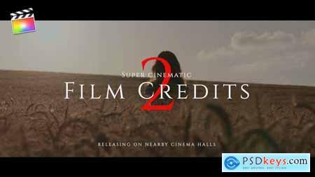 Film Credits Pack V.2 33077503