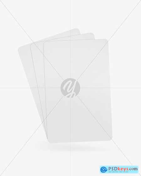 Three Playing Cards Mockup 86703