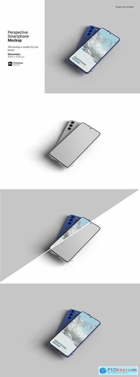 Perspective Smatphone Mockup