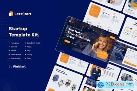Leststart - Digital Agency & Startup UI Kit