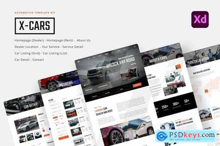 X-Cars - Automotive & Car Rental UI Kit