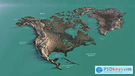 North America Map DR 33139936