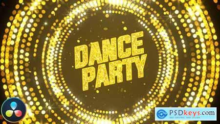 Party Invitation Opener DaVinci Resolve 33109197