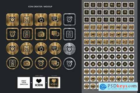 Icons Creator - Icon Mock up