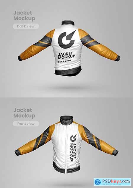 Premium jacket mockup