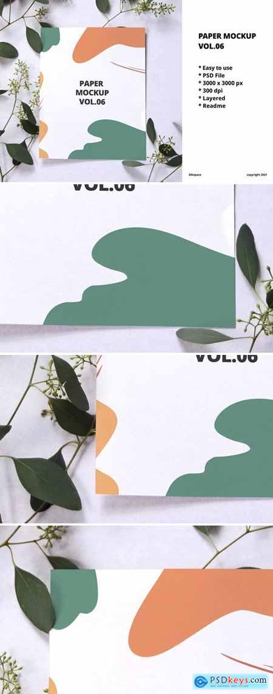Paper Mockup Vol.06