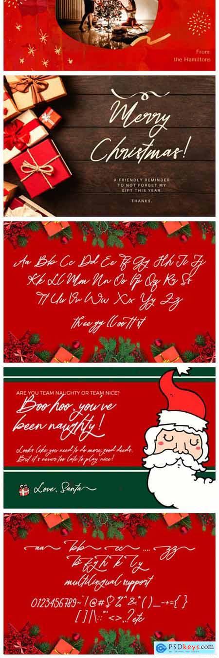 Christmas Life Font