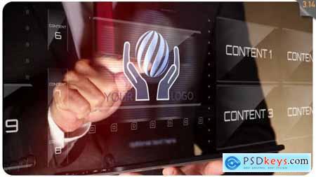 Hi-Tech Modern Businessman 16425981