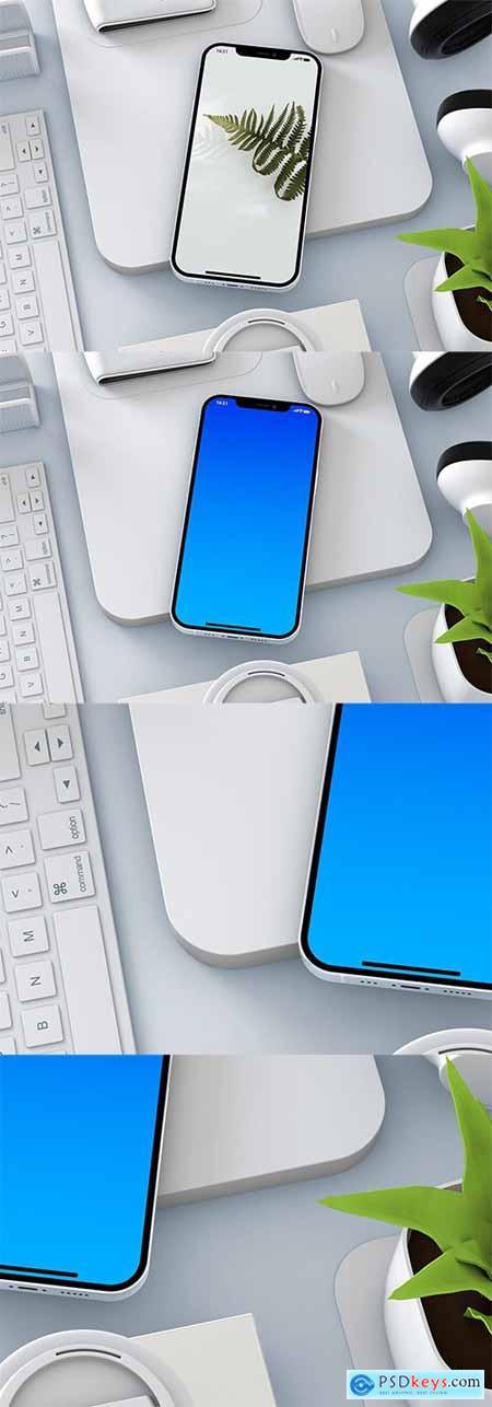 iPhone 12 Pro PSD Mockup NC8RX2S
