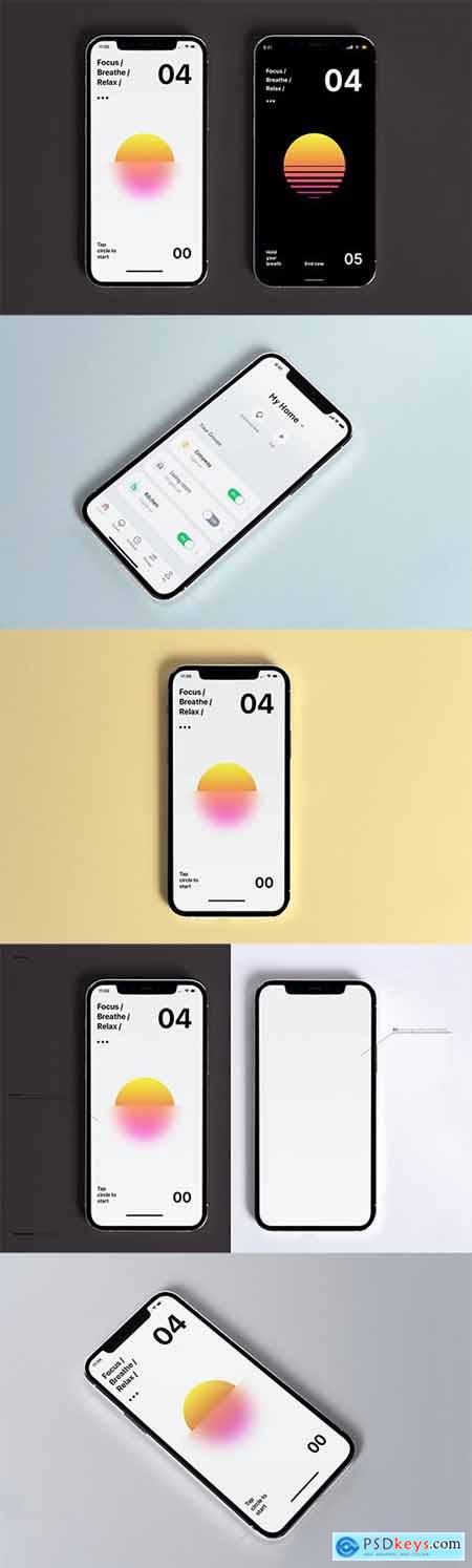 Lastest iPhone Mockup XNVAJ96