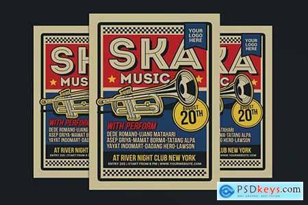 Ska Music Flyer R5VR2CM