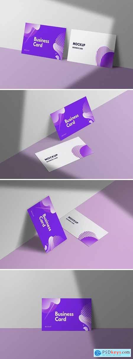 Modern Company Business Card Mockup