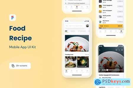 Recipe - Food Recipe App UI Kit