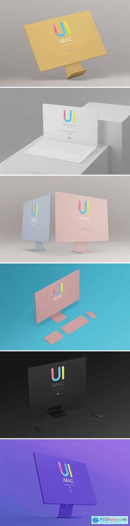 Clay Responsive Devices Mock-Ups